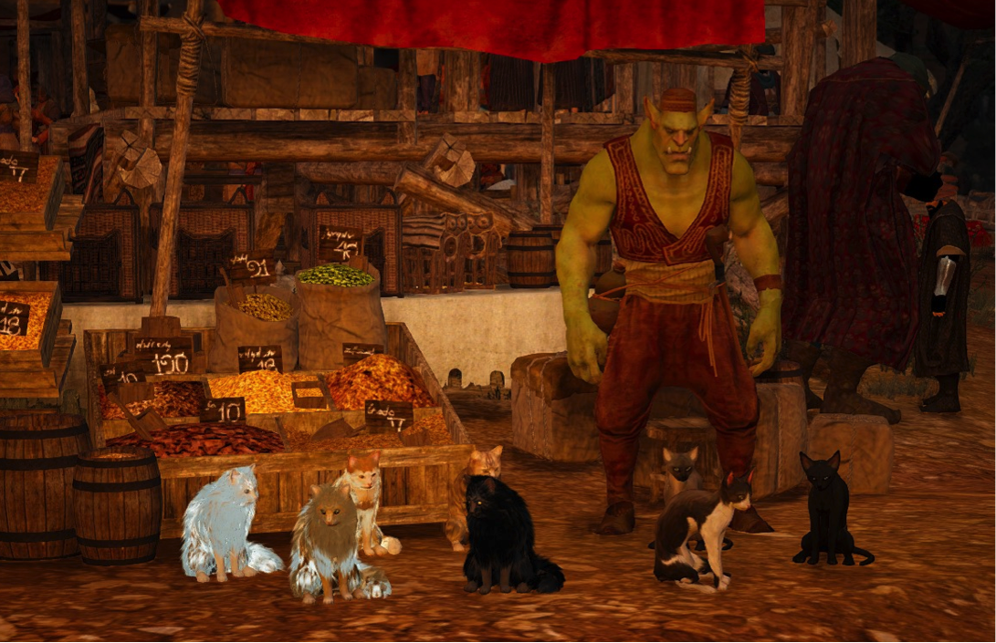 Разведение кошек в Black Desert: полезные помощники 1